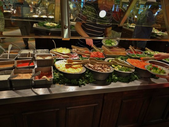 Tame the caveman in you by treating yourself to a buffet for Food bar harrisonburg